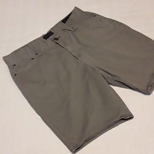 Bullhead Denim Co Slim Flex Gray Jean Shorts 36